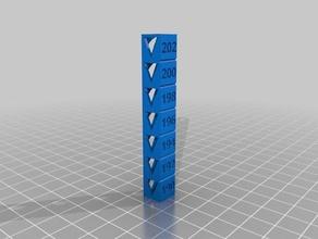 fixedtemp 190 202 3d printing tests customized