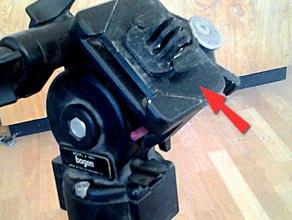 bogen manfrotto 3603 quick-release-Platte Kamera action camera mount gopro gopro mount manfrotto-bogen quick release xiaomi yi xiaomi yi mount