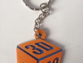 porte-cl&eacutes 3d-mo 3d-mo keychain keychains 3dmo 3d mo porte cle