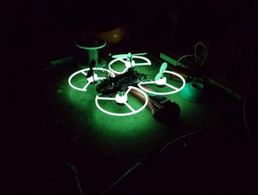 0820 85mm coreless motor prop guard bumperxq95 qx90 rc vehicles 55mm prop 65mm prop brushed quad glow dark micro quad micro quadcopter propeller guard qx95