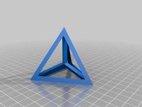 pentachoron 3d la impresión pruebas 3dbenchy 4 5-célula bench-marking benchie punto de referencia calibation calibración del cubo prueba de calibración pentachora pentachore pentachorons impresora de tortura de la prueba tetraedro triángulo