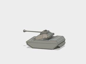 fütüristik bir tank 3d baskı ordu serin gelecek asker