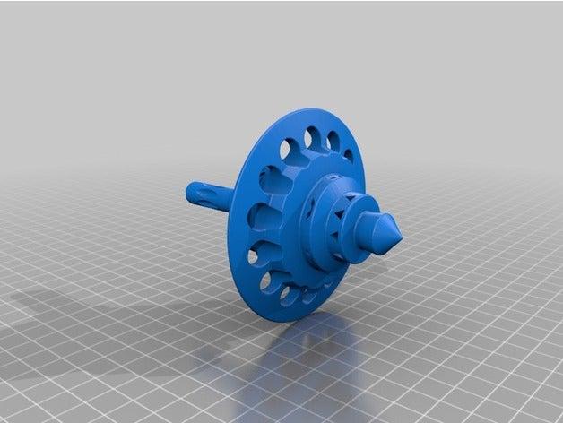 complex spinner 3d printi