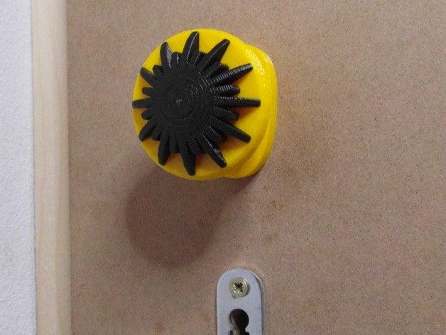 laser door knob household