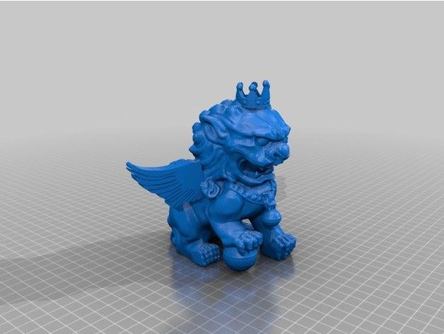 king lion 3d printing