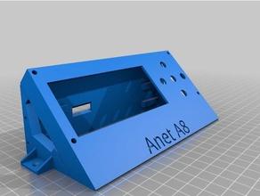 anet a8 - external lcd enclosure v32 3d printer parts anet anet a8 anet a8 upgrade electronics enclosure enclosed enclosure lcd lcd bezel lcd case lcd display lcd holder lcd mount lcd panel lcd screen