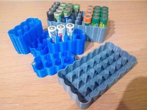 yet another aa aaa battery case 1x4 2x4 3x4 4x4 2x3 2x2 6x8 8x4 10x4 12x4 - mk2 mk3 parametric hobby 1x4 2x2 2x3 2x4 3x4 4x4 8x4 aaa aaa batteries aaa battery aaa battery box aaa battery case aaa battery holder aa battery aa battery holder battery battery holder battery pack case pack parametric