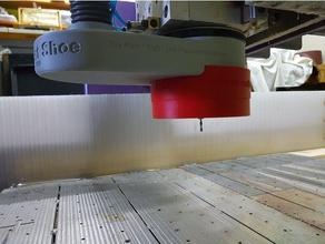 universal turbo dust shoe cnc router diy chip extraction chip extractor cnc cnc dust collector cnc dust shoe cnc router dust extraction dust extractor dust boot dust shoe
