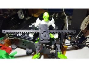 rack pinion robotics 3dprinting actuator engineering gear gearbox gears pinion rack rack pinion rack pinion robotics working gears