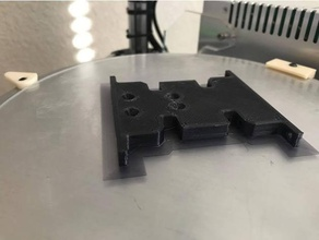 scx10 skid plate high clearance flat bottom r c vehicles axial axial scx10 center skid plate crawler deadbolt honcho rc crawler scale scaler scx10 skid skid plate transmission mount