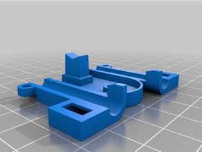 asse x rappy modificato 3d printer parts rappy