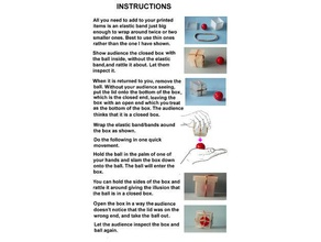 box ball magic trick puzzles ball box magic magic trick trick