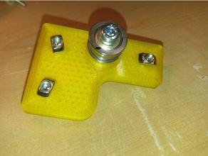 belt redesign ft5 revision 2 x-y idlers 3d printer parts f625zz folgertech ft5 ft5 idler idler pulley pulley x-idler x idler y-idler y idler