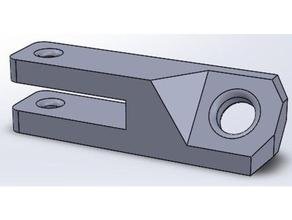 ptfe mount bracket 3d printer accessories filament filament guide pneufit adapter pneumatic pneumatic-fitting ptfe ptfe guide ptfe tube ptfe tube mount