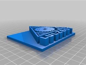 lulzbot logo nameplate single triple extruder signs & logos logo logos lulzbot lulzbot mini lulzbot taz lulzbot taz4 lulzbot taz5 lulzbot taz 6 nameplate nameplates