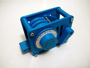combination lock engineering clock code combination combination lock kids mechanism parametric prototype toy