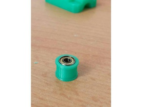 customized 623zz flange bearing pulley 3d printer parts 623zz 623 bearing f623zz flanged bearing pulley