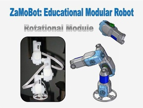 modular robot rotational module zamobot robotics educational modular modular robot modular robotics robot robotic robotics roboticsproject robot arm science education