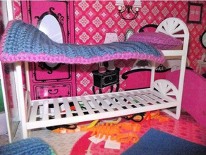 barbie doll house bunk beds - updated toys & games barbie beds bunk bunk bed doll dollhouse