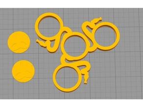 razer tri-spinner toys & games fidget fidget-toy fidget hand spinner fidget spinner fidget toy toy tri-spinner tri spinner