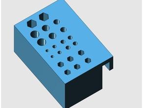 bit-bohrerhalter-ctc-makerbot tool holders & boxes bit bithalter bitholder bohrer bohrerhalter bohrerholder ctc ctc bit ctc bohrer ctc 3d printer ctc creator ctc printer drill drill holder holder