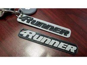 4runner keychain automotive 1st gen 2nd gen 3rd gen 4runner 4th gen 4x4 5th gen keychain keyring keys toyota