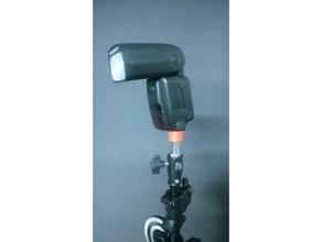hot shoe flash holder 3 8 unc thread camera 3 8 unc flash hotshoe hotshoe bracket photography strobe strobist