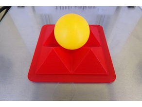 support balle ping-pong 3d printing balle support
