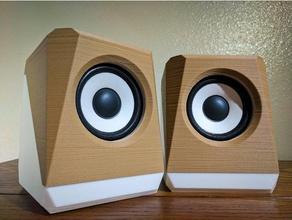 angular speaker box audio 3in speaker audio computer speaker home audio speaker speakers speaker box speaker boxes speaker enclosure speaker mount speaker stand stereo