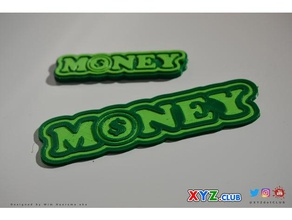 money - keychain - badge - decal - sticker signs & logos badge dollar dollarsign dollar sign dual dualextrusion dualstrusion dual color dual extruder dual extruders dual extrusion dual material keychain keychains keyring key chain leapfrog creatr dual money replicator dual stamp ultimaker 3+ wanhao duplicator 4s wanhao duplicator 4x xyzdotclub