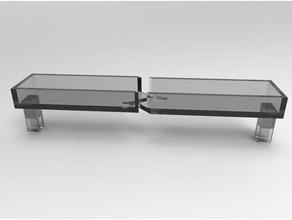 anet shelf top brackett 3d printer parts prusa anet a8 organization top shelf