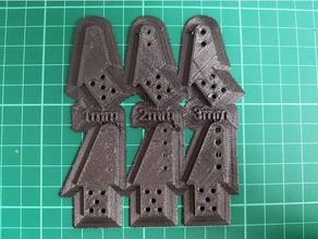 timone corno 1mm 2mm 3mm fori hobby 1mm 2k colla epossidica 2mm 3mm di carbonio foro modello di aereo modello di aereo profill rcairplane timone corno
