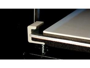 craftbot hold down clip printinz plate 3d printer parts clip craftbot craftbot 2 craftbot plus printinz
