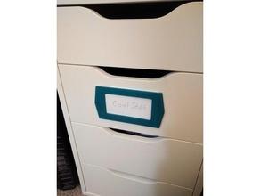 3 x 5 index card label tag holder organization holder label name tag name tag label office organization organization