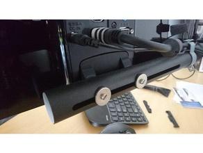 monitor bracket lg flatron ips237l-bn dataflex viewgo monitor arm - bureau 133 computer lcd monitor lcd mount monitor monitor bracket