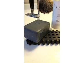 simple soap dish bathroom shaving shaving cream shaving soap soap soapdish soap dish soap dish holder soap holder soap tray