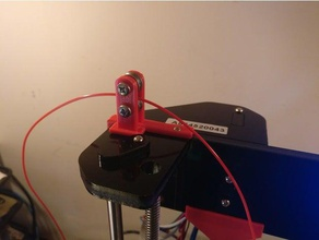 anet a8 roller bearing filament guide 3d printer accessories filament guide