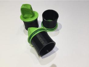 tube slingshot 3d printing pocket shot pocketshot sling shot slingshot slingshots tube slingshot