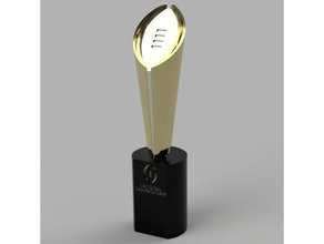 college football playoff trophy 3d printing cfp cfp trophy college college football college playoff college trophy football playoff football trophy playoff trophy