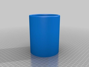 very basic pencil holder containers 3d printer 3d printing basic holder pencil pencil case pencil cup pencil holder very basic
