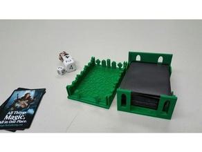 library graveyard deck box games avacyn deck box deck holder innistrad magic gathering mtg
