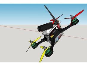 précieux x cadre racer 220 des véhicules en avion voiture voiture rc dji phantom drone cadre jeu gopro l'hélicoptère mobile mobius ned la nes phantom rc runcam