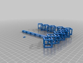 chainz test your 3d printer 3d printing tests 3dbenchy 3d printer 3d printing benchmark building chain chains design graber hard keychain keychains large lock necklace overhang prusa i3 sketchup spinner square test test print wanhao duplicator i3