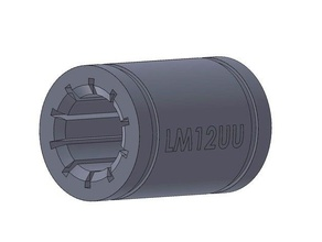 linear bearing lm12uu - igus style 3d printer parts bearing igus igus bushing igus rjmp linear bearing lm12uu lm12uu bearing lm12uu bushing lm12uu linear bearing
