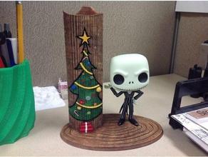 jack skellington funko figure display toy & game accessories before christmas display display stand figure funko funko pop jack jack skellington nightmare skellington