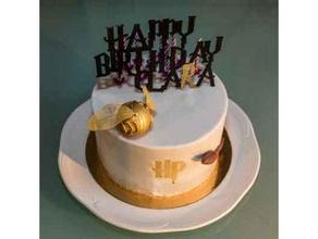 harry potter cake vif d'or - golden snitch food & drink cake gateau golden snitch harry potter vif d'or