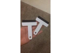simple squeegee hand tools blade flexible handle simple squeegee