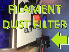 filament dust filter 3d printer parts dust dust collector dust filter dust remover filament filter mounted orion seemecnc