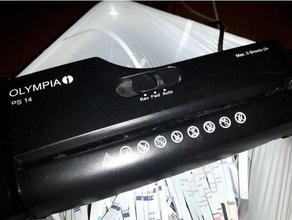 sostituzione ingranaggio lidl paper shredder parti di ricambio