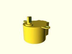 stepper 28byj hull 3d printing 28byj-48 28byj48 motor motor mount stepper stepper motor stepper motors stepper motor mount